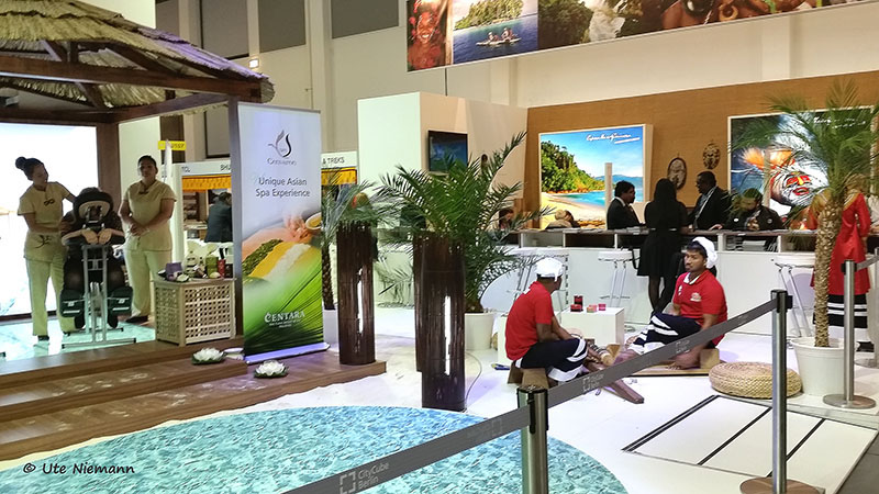 ITB 2015 - Messestand Malediven